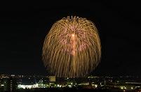 新潟県 夜景と長岡まつり大花火大会 正三尺玉