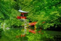 日本 京都府 醍醐寺弁天堂