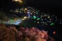 長野県 涸沢キャンプ場夕景