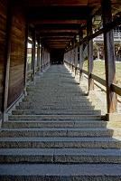 奈良県 東大寺 二月堂の階段