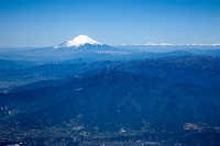 神奈川県 丹沢山地より富士山