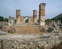 ギリシャ ピリッポイ 遺跡