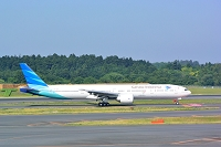 成田空港 ガルーダインドネシア航空 B777-300