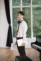 音楽留学する日本人の若者