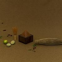 茶筅と味噌