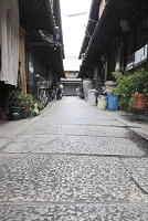 京都府 西陣 町家と路地