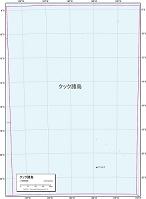 クック諸島 白地図