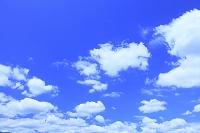 山形県 寒河江市 青空と雲