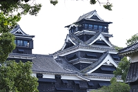 熊本県 熊本地震後の熊本城