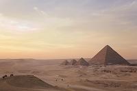 エジプト ギーザ メンカウラー王のピラミッド