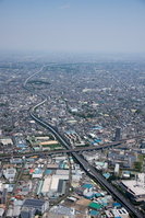 東京外環自動車道(北戸田周辺より川口JCT方面)