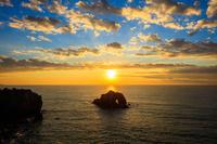 愛知県 伊良湖岬の朝日
