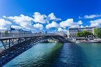 フランス パリ セーヌ川 レオポール・セダール・サンゴール橋