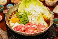 肉と野菜の鍋