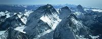 ネパール エベレスト、ローツェ、マカルー、カンチ