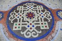 イタリア 床の模様