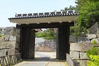愛知県 名古屋城 旧二之丸東二之門
