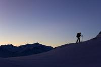 オーストリア スキーツアーのハイキング
