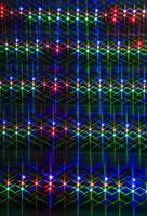 光のリズム ボケ LED