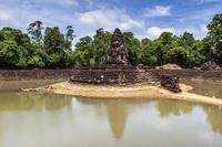カンボジア アンコール遺跡 ニャクポアン寺院