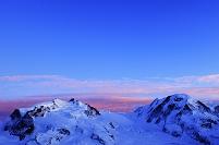 スイス モンテ・ローザ山群