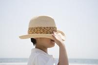 帽子の少年