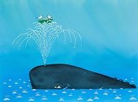 クジラとカモメ