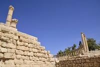 ジェラシュ遺跡 広場