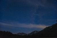 長野県 白馬三山と星空