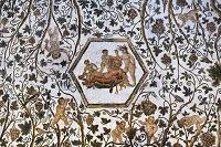チュニジア エル・ジェム博物館のモザイク