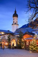ドイツ オーバーバイエルン クリスマスマーケット