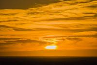 チュニジア クサール・ギレン サハラ砂漠の朝日