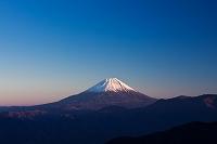 山梨県 増穂町 富士山