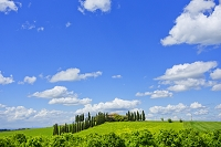 イタリア オルチャ渓谷