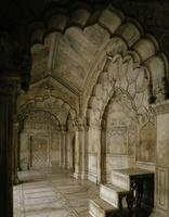 インド デリー 赤い城のモーティー・マスジド