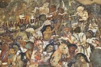 インド アジャンター石窟群 第17窟 壁画