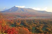 北海道 大沼公園 日暮山より