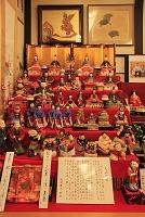 新潟県 町家の人形さま巡り 大浜人形(土人形)