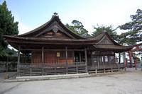 滋賀県 白鬚神社 本殿拝殿