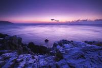 岩手県 碁石海岸の朝