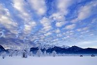 ドイツ バイエルン 雪景色