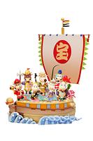 丑の七福神と宝船
