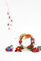 小幡土人形馬鈴と正月飾り