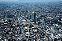 愛知県 名古屋市 新洲崎JCT付近より米野周辺