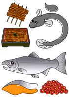 セット 鰻 蒲焼 うな重 鮭 鮭の切り身 いくら