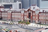 東京都 東京駅丸の内中央口の赤レンガ駅舎