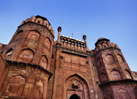 インド デリー レッド・フォート(赤い城) ラホール門