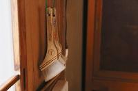 鎌倉彫塗師の工房