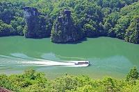 岐阜県 夏の恵那峡