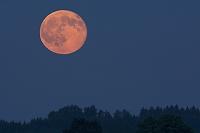 ドイツ 赤い満月